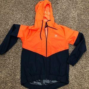 Women's Fila windbreaker jacket full zip Sz medium